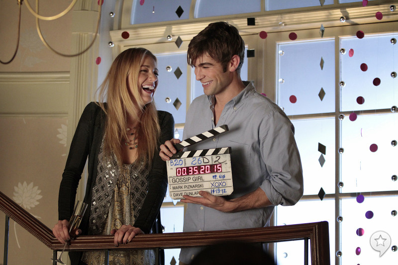 On the Set of Gossip Girl (2007) Behind the Scenes