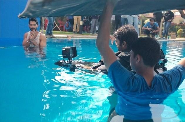 From the Film Shaandaar (2015) Behind the Scenes