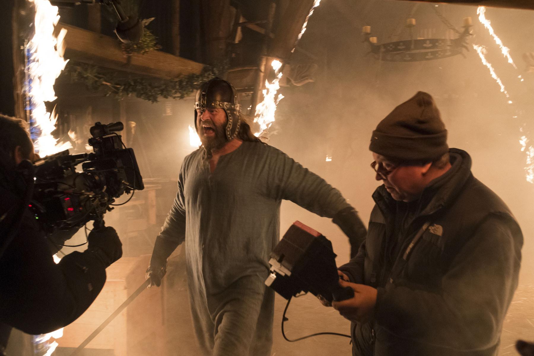 Peter Gantzler in The Last Kingdom (2015) Behind the Scenes