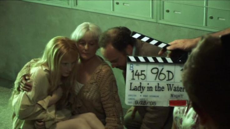 On the Set of Lady in the Water (2006) Behind the Scenes