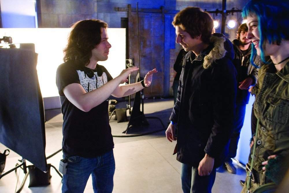 Edgar Wright Directs Behind the Scenes