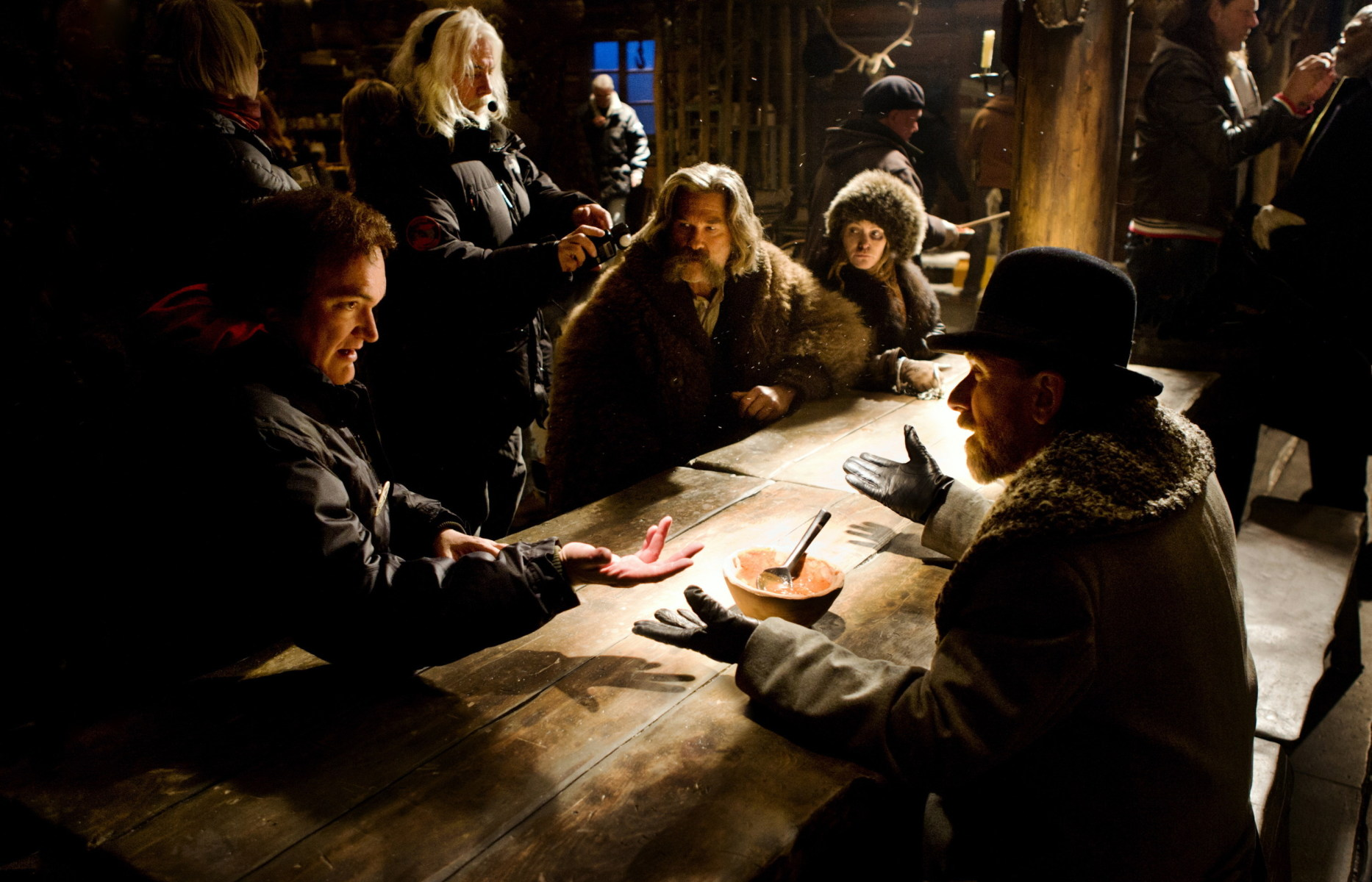 The Hateful Eight Behind the Scenes Photos & Tech Specs