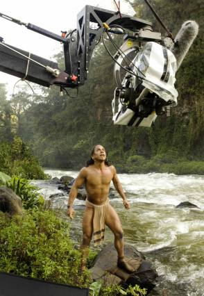 Rudy Youngblood : Apocalypto (2006) - Behind the Scenes photos