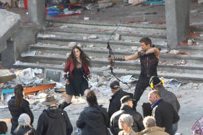 On Location : Avengers – Age of Ultron (2015) - Behind the Scenes photos