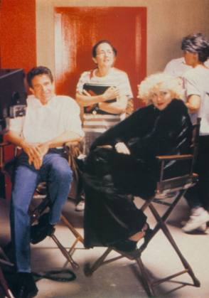 Beatty with Madonna