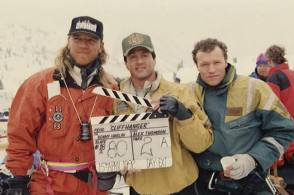 Cliffhanger (1993) - Behind the Scenes photos