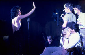 Filming Blue Velvet (1986) - Behind the Scenes photos