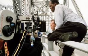 Die Hard with a Vengeance (1995) - Behind the Scenes photos