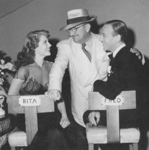 Rita, William and Fred : You Were Never Lovelier (1942) - Behind the Scenes photos