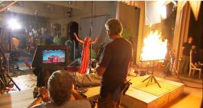 Filming Carrie (2013)
