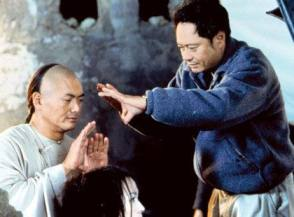 Lee & Chow Yun-fat : Crouching Tiger, Hidden Dragon (2000) - Behind the Scenes photos