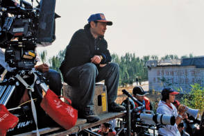 Ang Lee on the Set