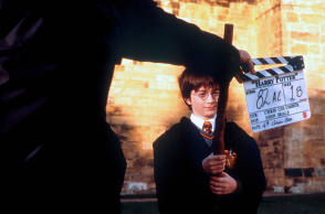 Harry Potter and the Sorcerer's Stone (2001) - Behind the Scenes photos