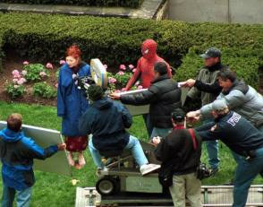 Mary and Spider-Man - Behind the Scenes photos