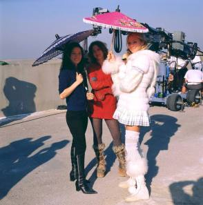 Angels in Charlie's Angels (2003) - Behind the Scenes photos