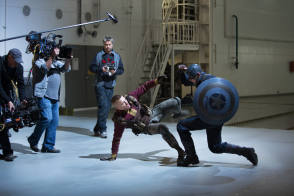 Fight Scene - Captain America : The Winter Soldier (2014)