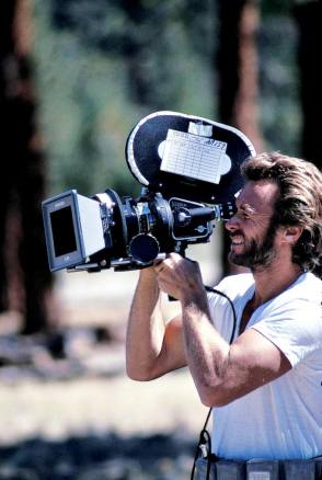 Filming High Plains Drifter (1973) - Behind the Scenes photos