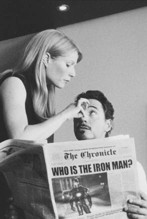 On the Set of Iron Man (2008)