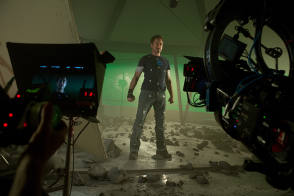 Robert Downey Jr : Iron Man (2013) - Behind the Scenes photos