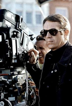 The King of Cool, Steve McQueen - Behind the Scenes photos