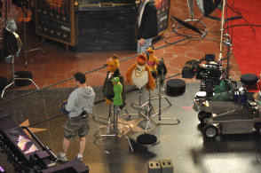 On Location : The Muppets (2011) - Behind the Scenes photos