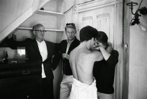 On Set of The Graduate (1967) - Behind the Scenes photos
