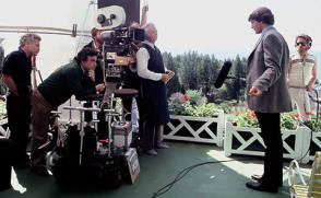 Capturing an Angle on Christopher Reeve - Behind the Scenes photos