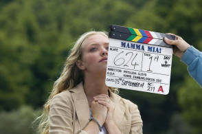 On Location : Mamma Mia (2008) - Behind the Scenes photos