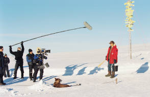 Filming Eight Below (2006) - Behind the Scenes photos