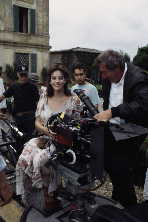 On the Set of Stealing Beauty (1996) - Behind the Scenes photos