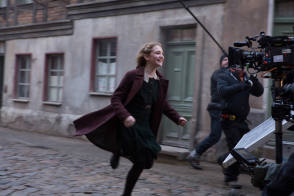 Filming The Book Thief (2013) - Behind the Scenes photos