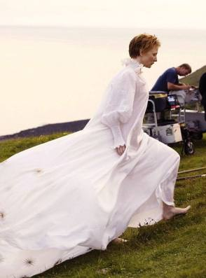 Cate in Elizabeth : The Golden Age (2007) - Behind the Scenes photos