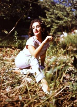 Liz Taylor in Raintree County (1957) - Behind the Scenes photos