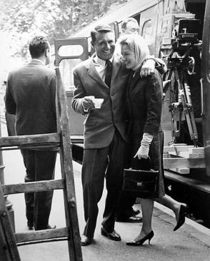 Deborah Kerr and Cary Grant - Behind the Scenes photos