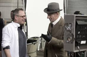 Ian McKellen as Mr. Holmes - Behind the Scenes photos