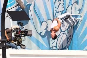 Mark in Pain and Gain (2013) - Behind the Scenes photos