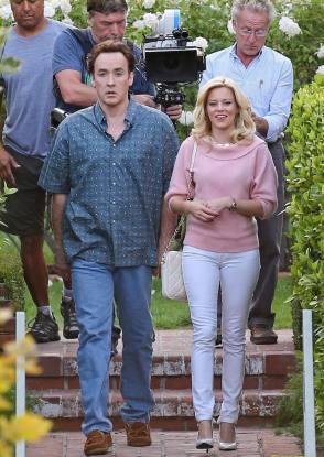 John and Elizabeth on Set - Behind the Scenes photos