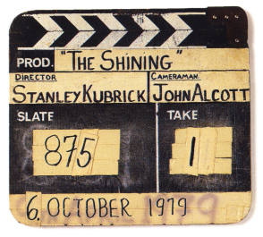 The Clapper Board : The Shining (1980) - Behind the Scenes photos
