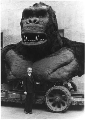 The Giant King Kong - Behind the Scenes photos