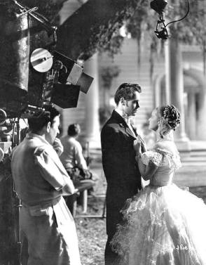 Filming Jezebel (1938) - Behind the Scenes photos