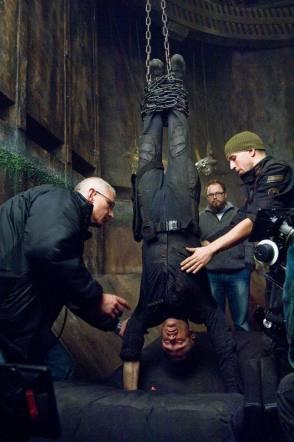 Pandorum (2009) : Hanging Man Upside Down - Behind the Scenes photos