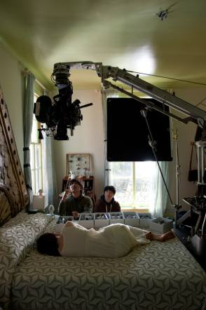 Filming Stoker (2013) - Behind the Scenes photos