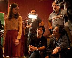 Park Chan-wook Directs - Behind the Scenes photos