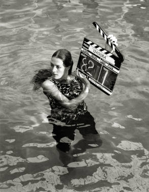 An Actress in Water - Behind the Scenes photos