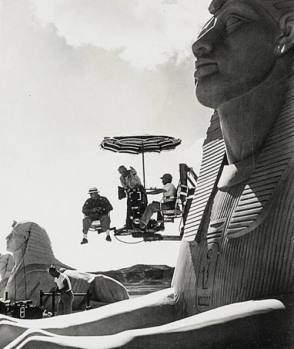 Filming Ten Commandments (1956)