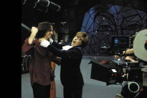 On Set of Austin Powers in Goldmember (2002) - Behind the Scenes photos