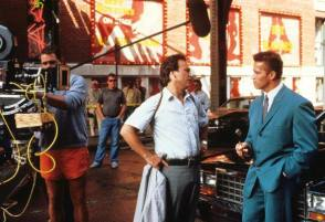 Filming Red Heat (1988) - Behind the Scenes photos