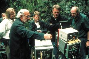 On Location : Jurassic Park III (2001) - Behind the Scenes photos