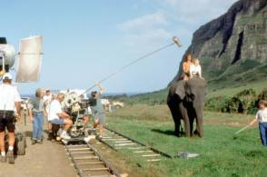 Filming George of the Jungle (1997)