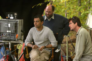 On the Set of The Village (2004) - Behind the Scenes photos